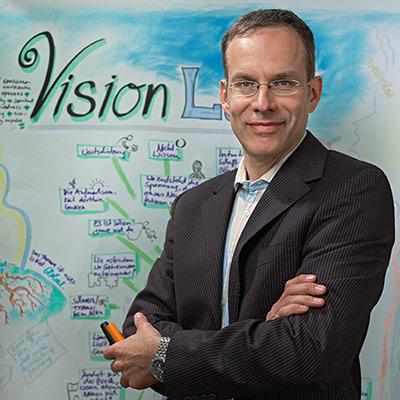 Autor Mathias Weitbrecht - Das Visualisierungs-Buch